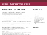 adobe illustrator free guide