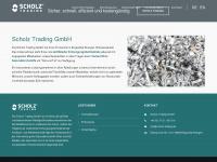 Scholz Trading GmbH | Dropshipping | Streckengeschäfte für Metallschrott aus Stahl, NE-Metall und Recycling von Sekundärrohstoffen