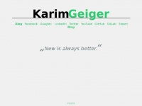 Karim Geiger - Private Commits