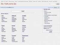 DJ Bussi&#039;s Top Werbeplattform de-topliste.de fuer fast alles und fuer fast jeden