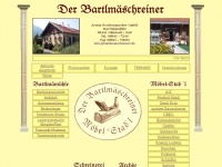Der Bartlmäschreiner Armin Krattenmacher Ohlstadt Stilmöbel Pumuckl-Museum Holzwurmstubn