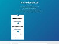 future-domain.de Ihr Partner für Domainmarketing, Domain pachten und Domain kaufen.