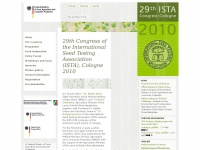 Home - ISTA Congress Cologne 2010