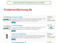 proteinentfernung.de