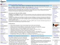 Outlook Server | Alternative zum Windows SBS oder Microsoft Exchange Server