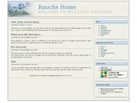 Rauchs Home - Welcome to my little universe