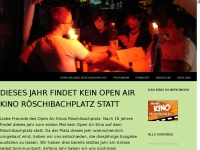 Open Air Kino Röschibachplatz | 16 Jahre Kino in Wipkingen