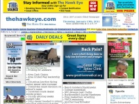 Thehawkeye.com - The Hawk Eye