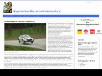 Motorsport-bayern.de - Bayerischer Motorsport-Verband e.V.