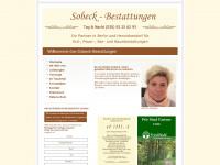 sobeck-bestattungen.de