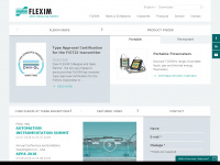 Ultraschall Clamp-On Durchflussmesser und online Prozessanalytik | FLEXIM