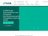 Ultraschall Clamp-On Durchflussmesser und online Prozessanalytik | FLEXIM