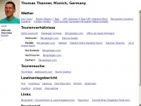 Homepage of Thomas Thanner
