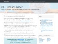 SL-Urlaubsplaner | Verwaltungssoftware