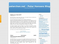 peterchen.net - Peter Hansens Blog | Privates Blog von Peter Hansen