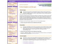 Aufgaben.schubert-verlag.de - Online-Aufgaben Deutsch als Fremdsprache