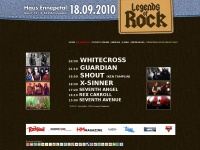 LoR 2010 | legends of rock | festival | programm | info | tickets | archiv