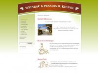 Weinbau & Pension Keydel - Willkommen