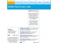 Iban-rechner.net - IBAN-Rechner IBAN berechnen, IBAN ermitteln, IBAN bestimmen