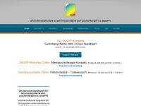 Dggpp.de - DGGPP - Herzlich Willkommen bei der Deutschen Gesellschaft für Gerontopsychiatrie und -psychotherapie (DGGPP) e.V.