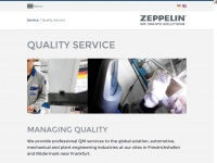 Quality Management Services / Zeppelin Systems
