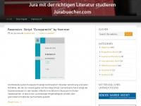 Jurabücher - Das Rezensionsportal für juristische Studienliteratur