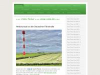 Arbeitsgemeinschaft Osteland e. V., Osten - Oste-Ticker