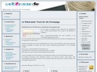 Webmaster Tools für die Homepage