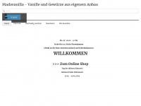 Madavanilla.de - Vanille - Startseite - Bourbon Vanille, Tahiti Vanille und Pompona Vanilleschoten aus eigenen Plantagen