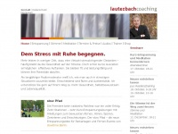 Entspannungscoaching, Mentalcoaching, Stimmcoaching | Johannes Lauterbach