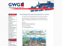 Gwg-neuss.de - Genossenschafts-Wohnungen bei der GWG Neuss