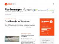 Norderneyer Morgen Online - Tagesaktuelle Nachrichten