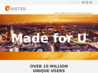 Unister Homepage