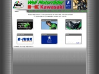 Weil-gmbh.de - Kawasaki und Peugeot Scooter Vertragsh&auml;ndler, Service f&uuml;r Triumph, Motorrad Handel und Instandsetzung Weil - GmbH Motorr&auml;der
