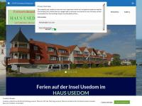 Haususedom.de - Drei-Sterne-Aparthotel HAUS USEDOM mit Frühstücks-Restaurant - auf Usedom im Ostseebad Kölpinsee/Loddin - 3-Sterne-Aparthotel