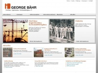 Georgebaehr.de - George B&auml;hr Hochbau Ingenieurbau Schl&uuml;sselfertigbau Dresden