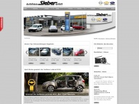 Startseite - Autohaus Sieber - Opel,Chevrolet,Subaru Vertragspartner f&uuml;r Gebrauchtwagen, Neuwagen und Werkstatt