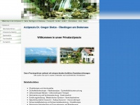 Drdietze.de - Willkommen in der Arztpraxis Dr. Dietze Überlingen am Bodensee - Praxisprofil - Kontakt - Anfahrt - Informationen - Links - News - Arztpraxis Dr. Dietze Ueberlingen am Bodensee
