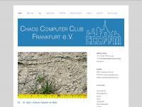 CCC FFM » Chaos Computer Club Frankfurt e.V.
