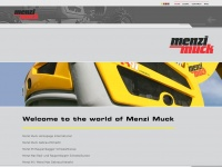 Menzimuck.com - Welcome to the world of Menzi Muck