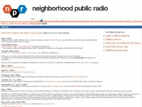 neighborhoodpublicradio.org Thumbnail