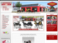 Motorrad-schreiber.de - Motorradhaus Schreiber in Zeven - Ihr Honda und Peugeot Vertragspartner