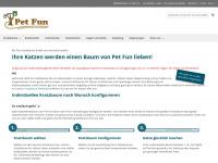 Pet Fun Kratzbaum - Kratzbäume direkt vom Hersteller -  Startseite