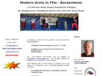 Modern Arnis in FFM-Bockenheim