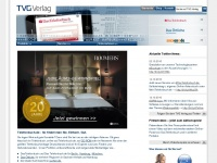 tvg-verlag.de Webseite Vorschau