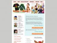 kinder-t-shirts.net Webseite Vorschau