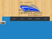 bootsfolierung.com Webseite Vorschau