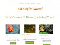 koi-karpfen-koestorf.de Webseite Vorschau