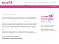 raum34-kassel.de Webseite Vorschau
