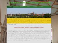 kirche-strehla.de Webseite Vorschau